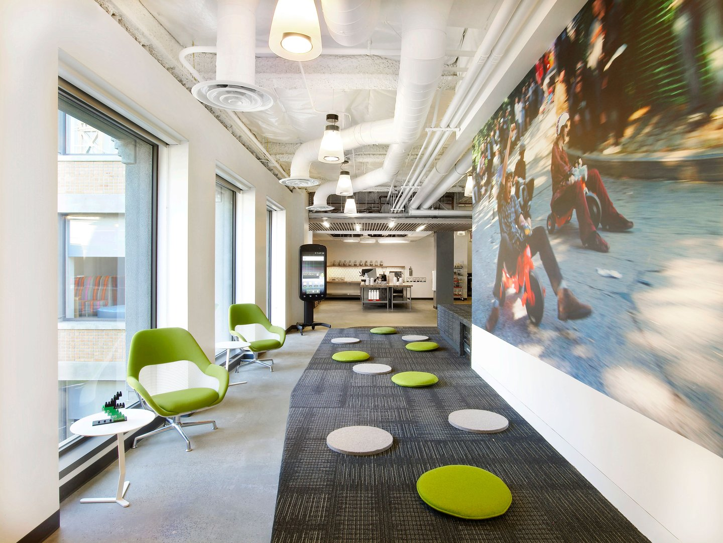 Google lounge space custom spaces for Goodl