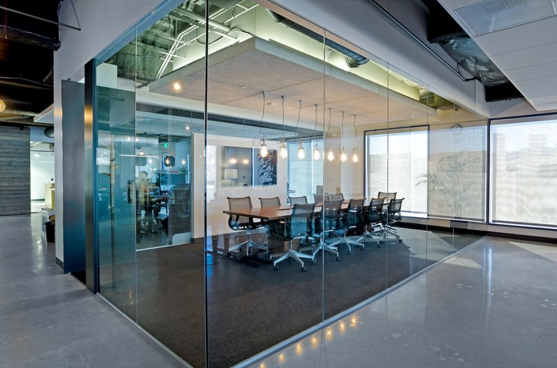 Corporate Glass Meeting Rooms